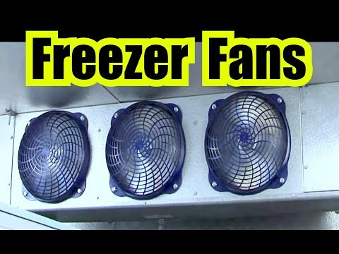 3 INDUSTRIAL FANS from a FREEZER for 10 HOURS of HUMMING WHITE NOISE via FAN SOUND EFFECT
