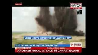 ISIS Posts Video Of Nimrud City Destruction In Iraq