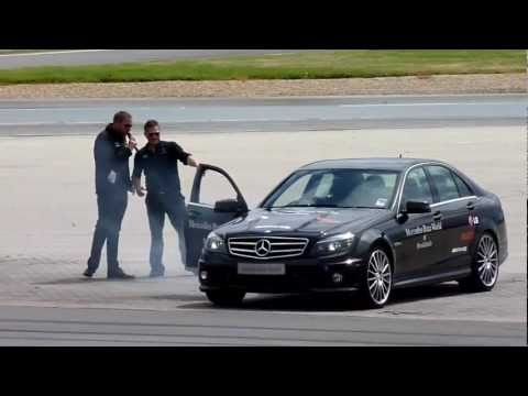 POWER SLIDE WORLD RECORD BY MAURO CALO AND MERCEDES BENZ AMG
