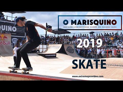 O Marisquiño 2019  final SKATE Vigo (España) extremeprovideo