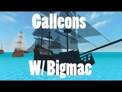 Roblox Galleons w/Bigmac RING POP PLS