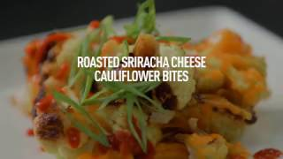 Roasted Sriracha Cheese Cauliflower Bites by Panasonic