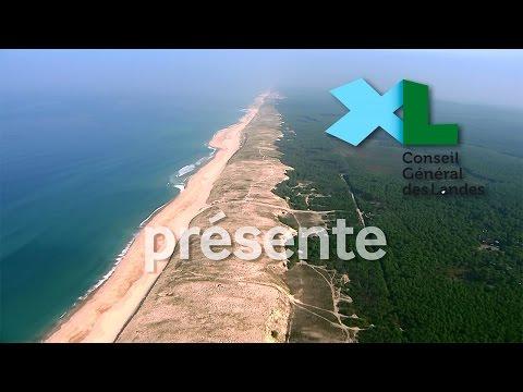 La côte landaise vue du ciel - HD