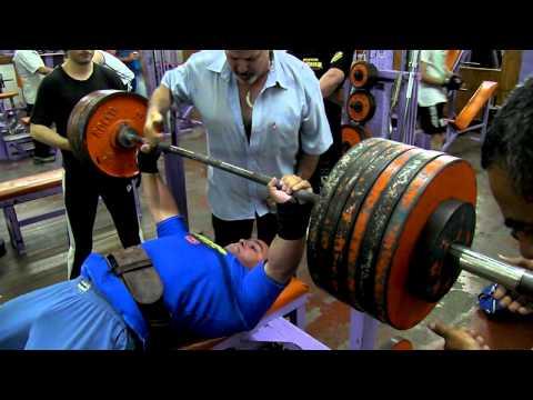Eduardo Alcaraz 280 kg Fuerza en Banco   Gimnasio Dimaro