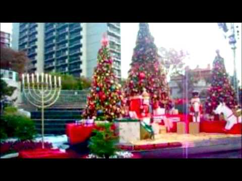 christmas in downtown los angeles youtube. Black Bedroom Furniture Sets. Home Design Ideas