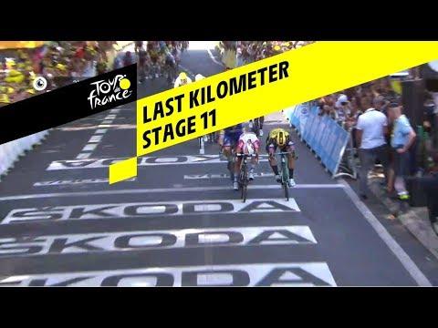Last kilometer - Stage 11 - Tour de France 2019