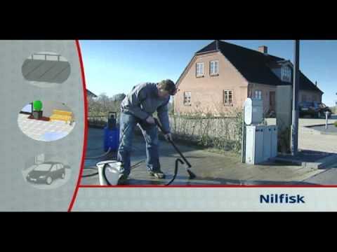 nettoyeur haute pression nilfisk excellent - youtube