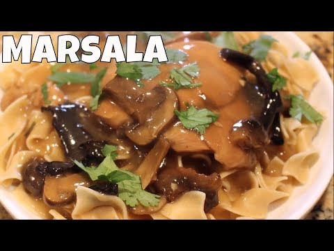 Chicken Marsala For Whip It Up Wednesday Crock Pot Colab With Linda's Pantry