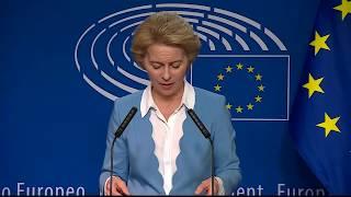 EU-KOMMISSION: Warum die Wahl für Ursula von der Leyen so wackelig ist