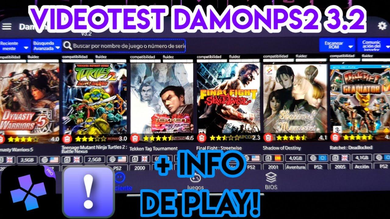 Dynasty Warriors 5/Final Fight: Streetwise/TMNT 2/Shadow of Memories/Tekken Tag - DamonPS2 3.2