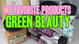 "My favorite ""Green Beauty"" products: Earth Day Wellness"