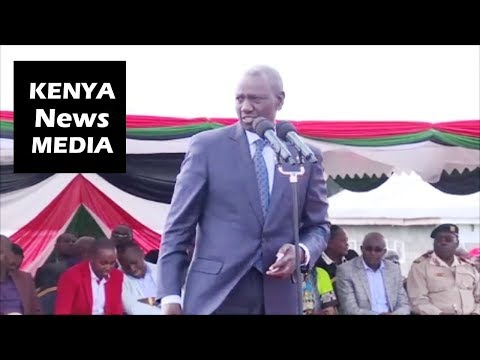 William Ruto in Ol Kalou Nyandarua RALLY Dominated by Succession Politics for 2022!!!