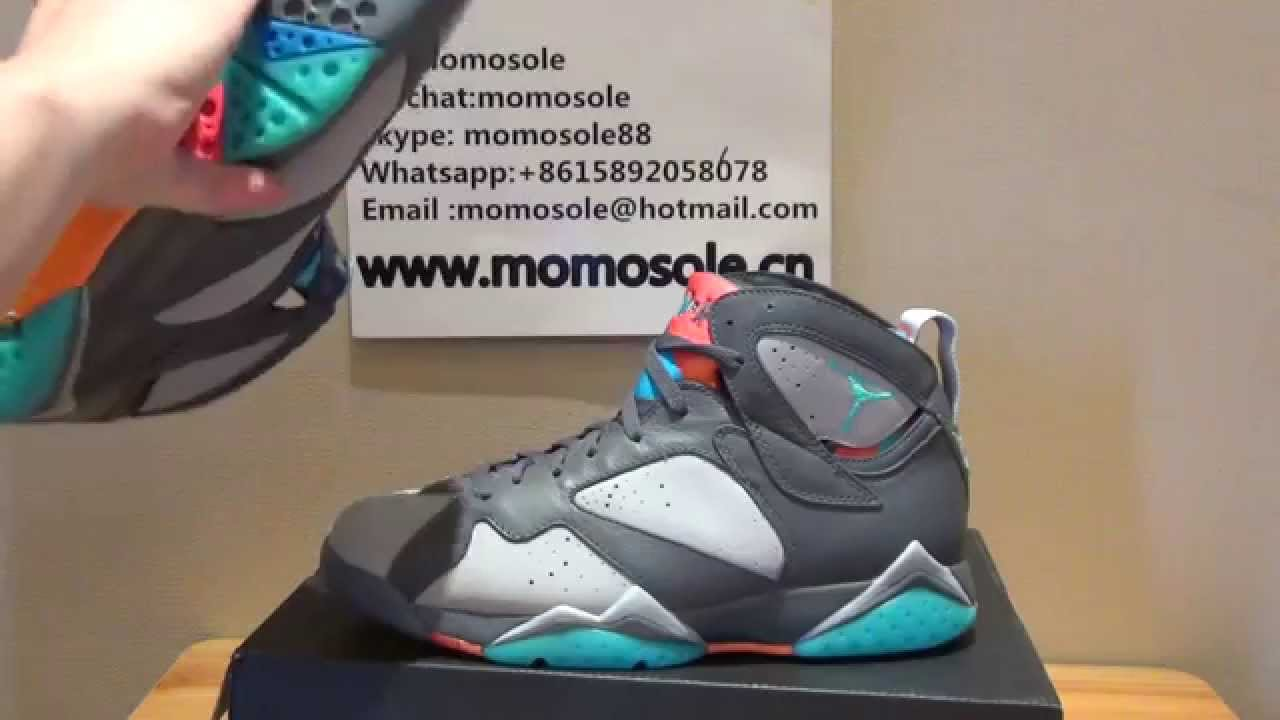 5140fb6062786e Discount Authentic Air Jordan 7 Bobcats 2015 HD Review From www.momosole.cn