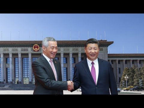 Singapore PM Lee Hsien Loong visits China