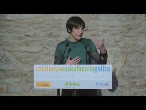Intervención de Ana Pontón na presentación da candidatura das Europeas