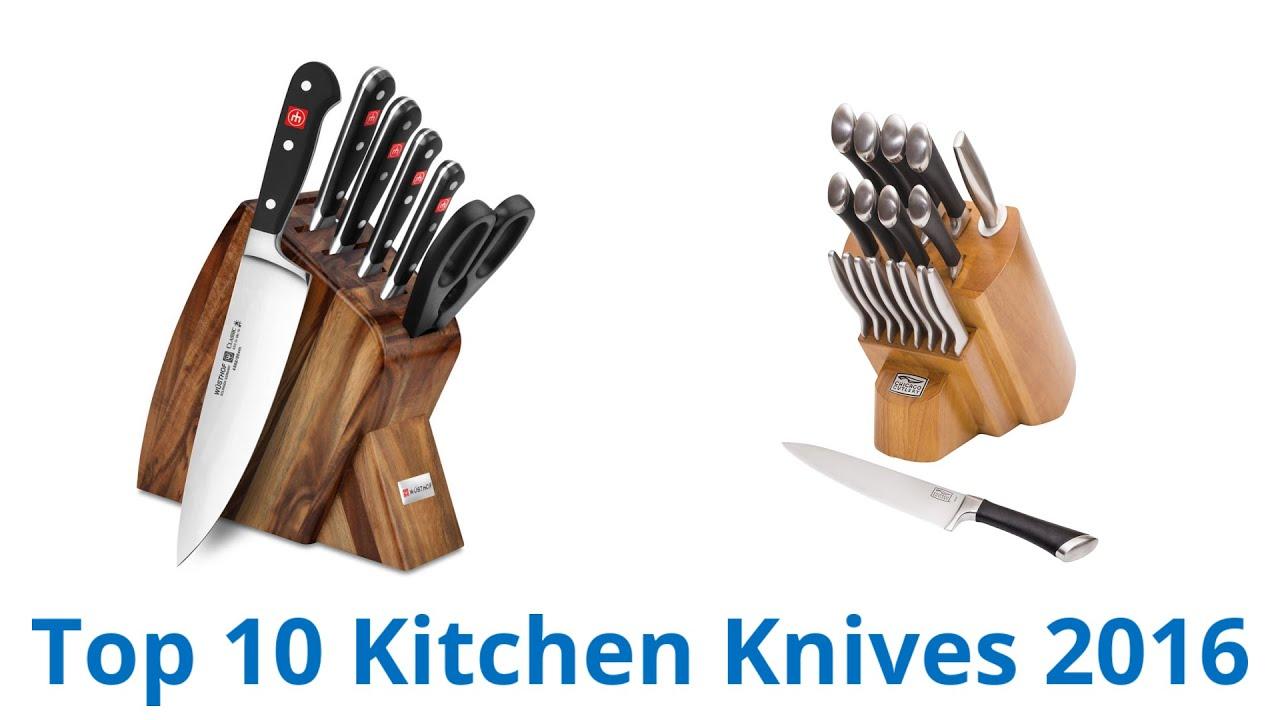 10 best kitchen knives 2016 youtube