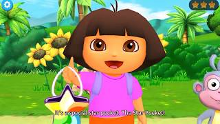 Kids game to play   Dora travels to the space   Gameplay for girl
