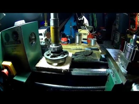 Lathe Spindle Bearings, tear down, inspection, re-grease and adjustment