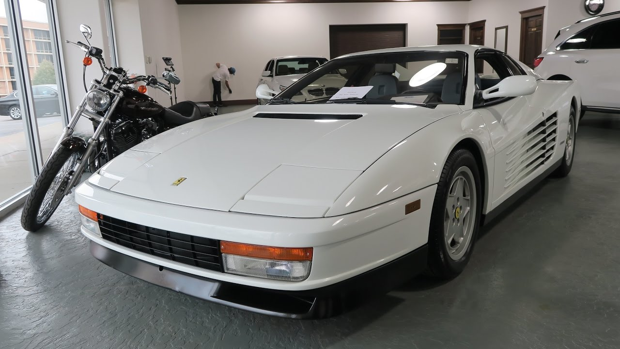 1991 ferrari testarossa for sale in canton ohio jeff 39 s. Black Bedroom Furniture Sets. Home Design Ideas