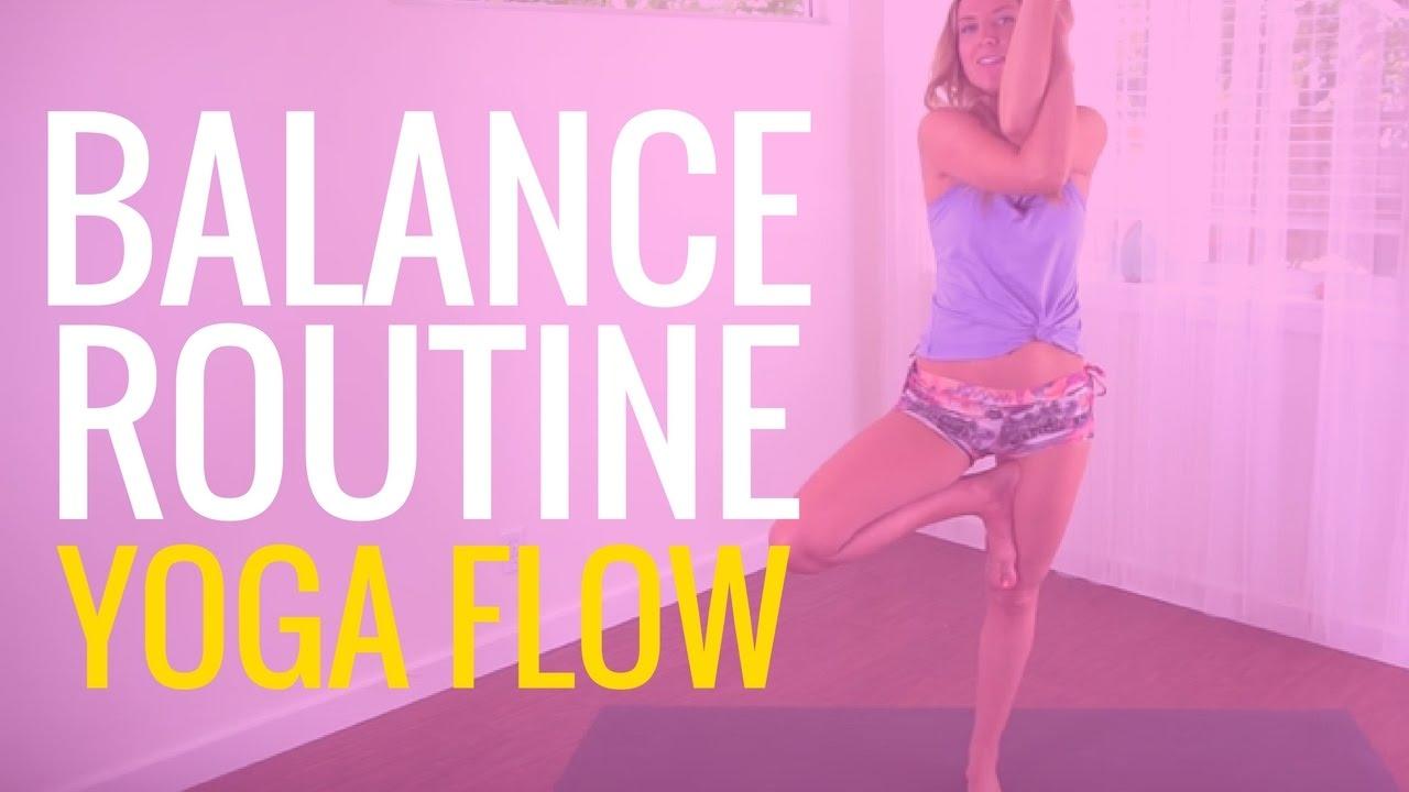 Yoga Flow For Balance - YouTube