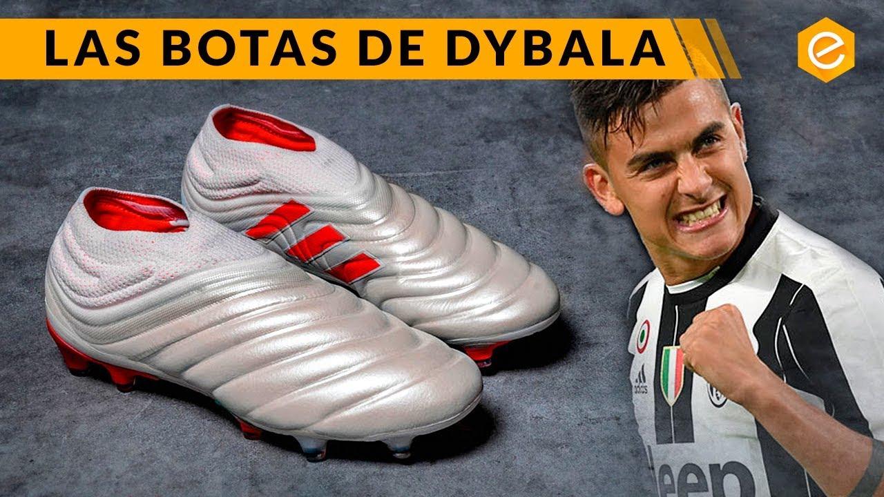 quien lleva las botas blancas adidas copa jugador de fútbol