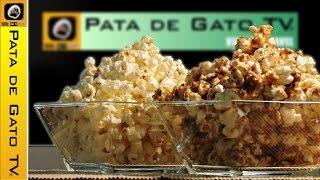 Palomitas Con Sal Y Con Caramelo, Paso A Paso / Caramel Popcorn, Step By Step