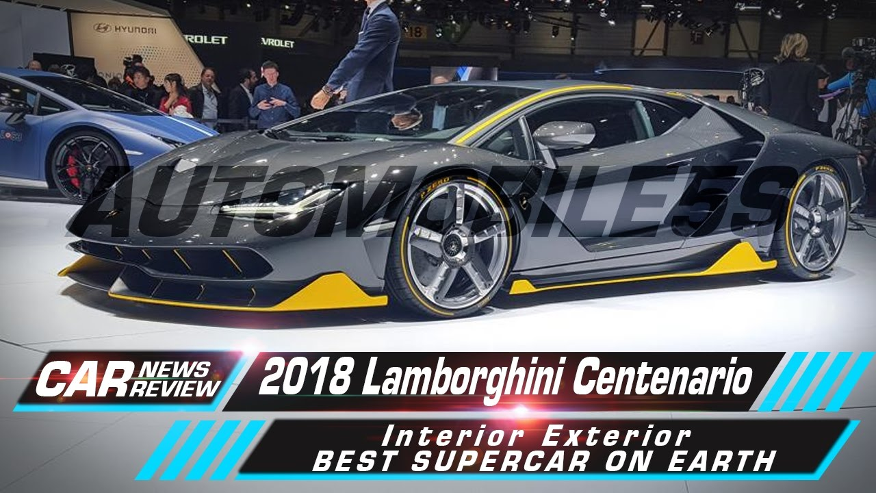 Lamborghini Centenario Interior Exterior Best Supercar On