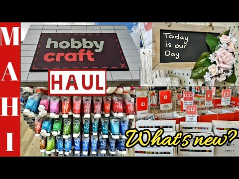 Hobbycraft | Hobbycraft Haul | Entire Art and Craft Range | Shop with me! | What's new in Store