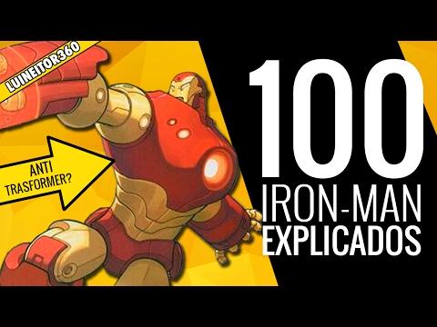 100 Diferentes Versiones de Iron-Man Explicadas! LUINEITOR