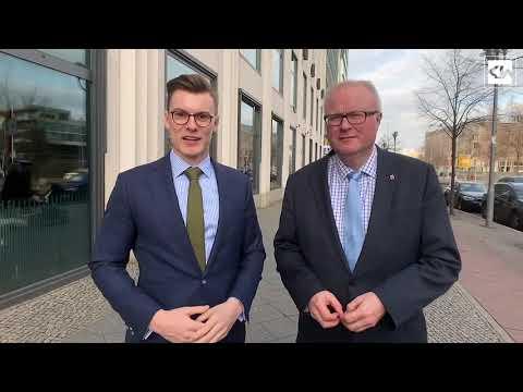 Deutschland-Rente: Gespräch mit dem hessischen Finanzminister Dr. Thomas Schäfer