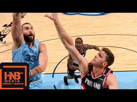 Memphis Grizzlies vs Portland Trail Blazers Full Game Highlights   12.12.2018, NBA Season