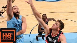Memphis Grizzlies vs Portland Trail Blazers Full Game Highlights | 12.12.2018, NBA Season