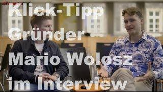 Klick-Tipp Gründer Mario Wolosz im Interview