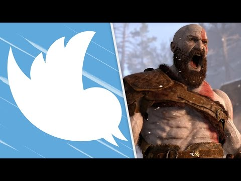 TWITTER VAI SER PAGO? E GOD OF WAR 2017