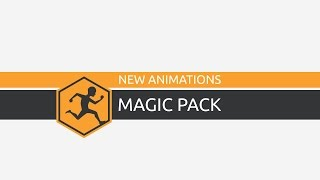 New Animations: Magic Pack