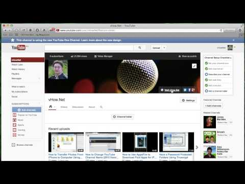 New YouTube Layout Setup - How to Add Website and Social Links