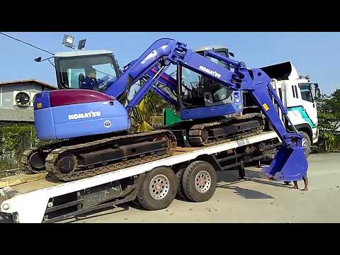 Jakarta Auctions - Extreme Loading Komatsu PC78 Hydraulic Excavators