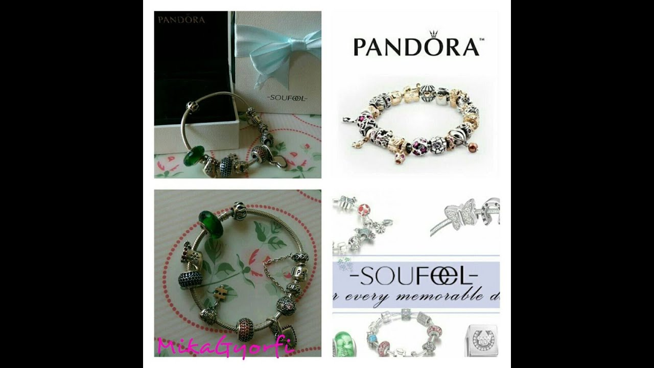 a386ab51311a Mi pulsera Pandora   Soufeel - YouTube