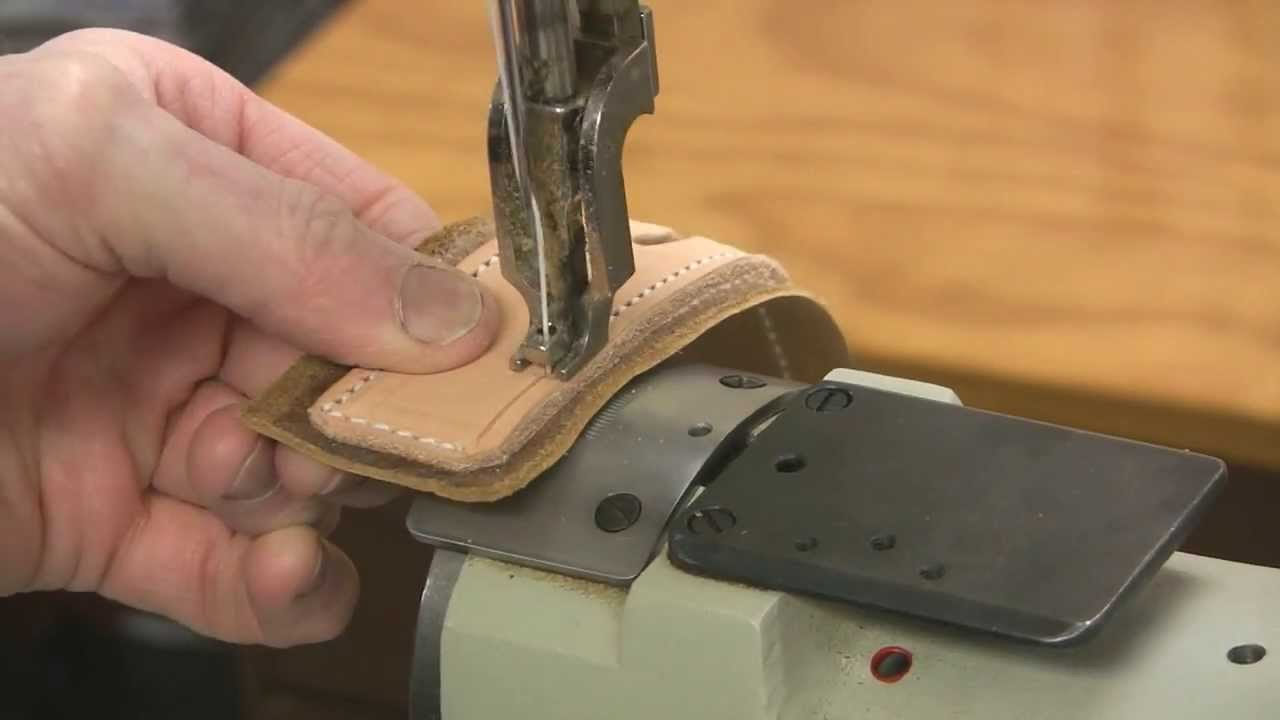 Leather Sewing Machine Youtube