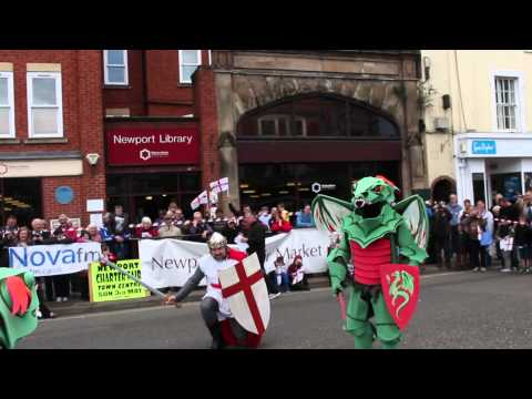 St. Georges Day Celebrations Newport Shropshire