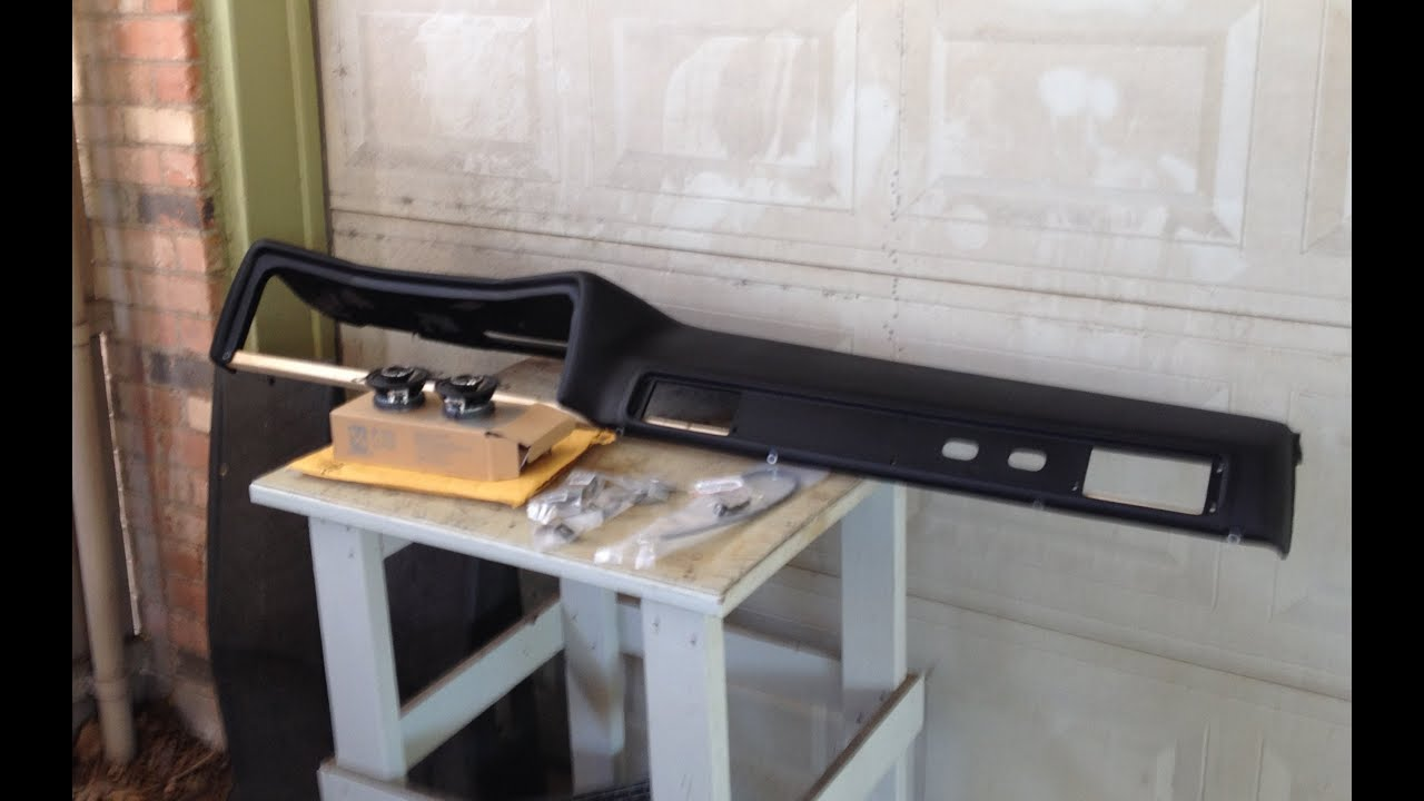 hight resolution of part 1 c10 dashboard and custom speaker installation 73 87 chevrolet