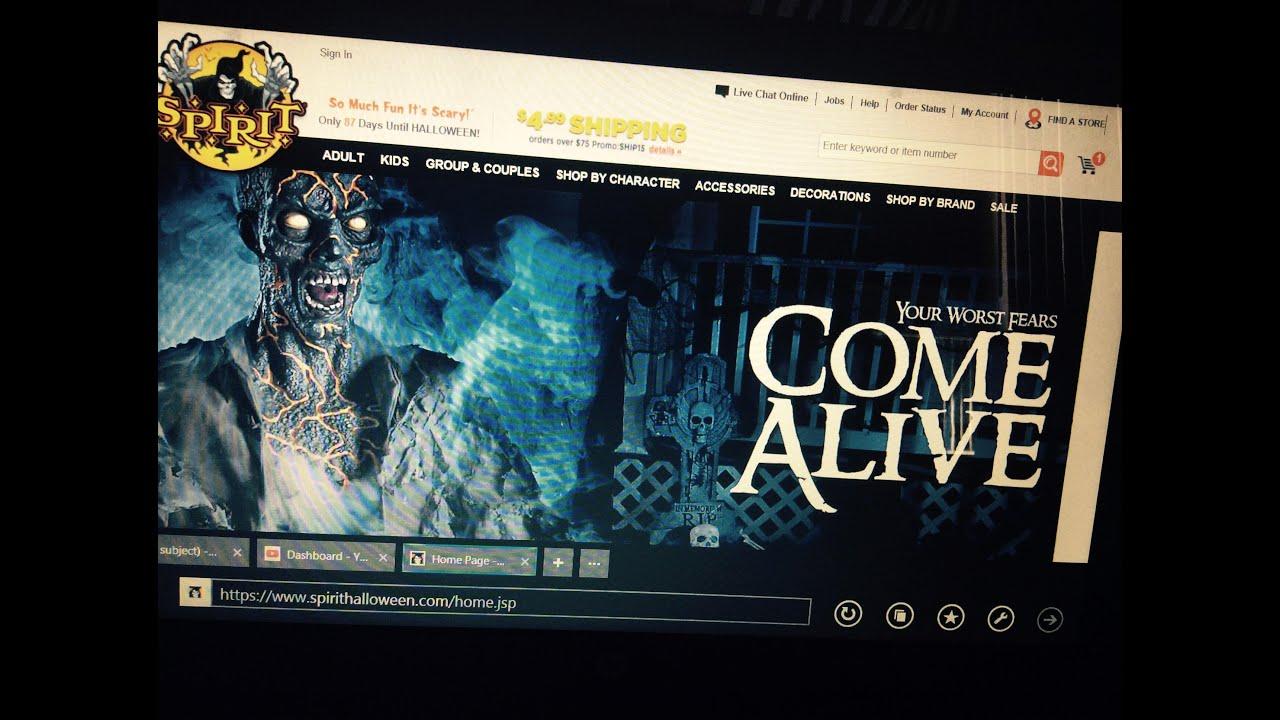 Spirit Halloween Website Youtube Jpg 2592x1936 Spirit Halloween Jobs