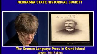 The German Language Press in Grand Island, Nebraska