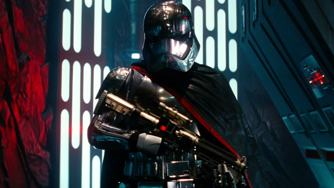 The Force Awakens Gwendoline Christie On Captain Phasma Being Star