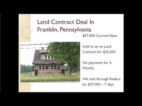 What Works A Profitable Land Contract Deal Example  Video