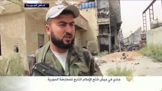 فيديو.. المعارضة السورية تقتحم أحد أبنية سجن النساء