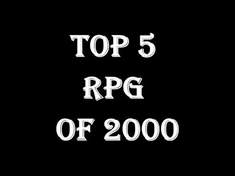 Top Rpg Games Of 2000