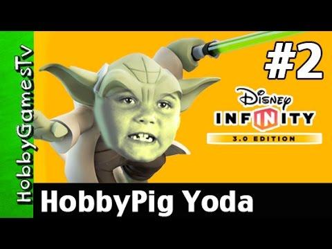 Star Wars Disney Infinity 3 0 2 Yoda Attacks