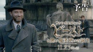 映画『ファンタスティック・ビーストと黒い魔法使いの誕生』予告1【HD】2018年11月23日(金・祝)公開