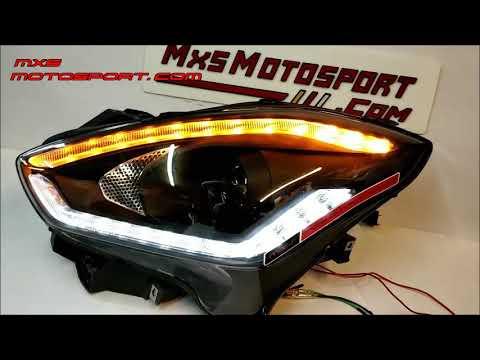 V1812 Maruti Suzuki Swift Matrix LED Daytime Projector Headlights by MxsMotosport